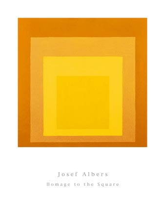 Study For Homage to the Square   Josef Albers