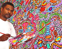 The Artist Reggie Laurent
