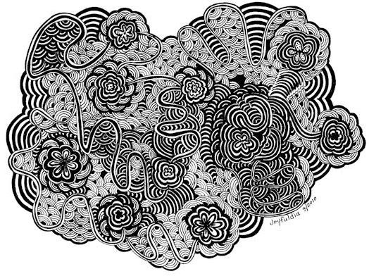 Detailed Doodle Art by Dia Stafford