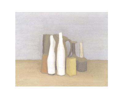 乔治·莫兰蒂的静物画