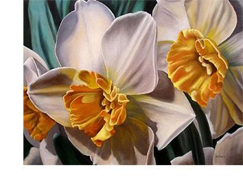 黄水仙花艺术