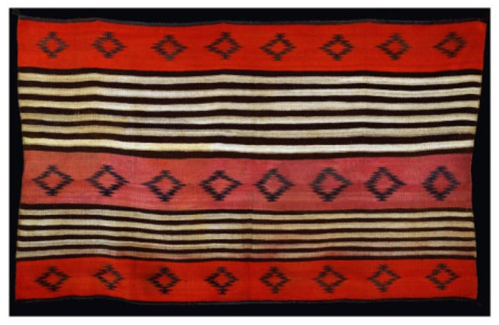 A Transitional Navajo Woman's Blanket