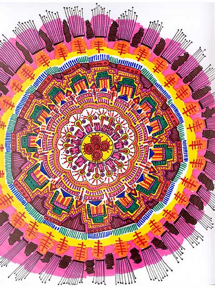 Detailed Mandala Art by Stephanie Smith