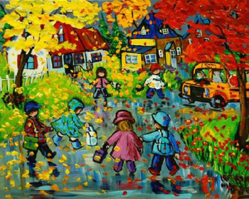 Whimsical Naive Expressionism