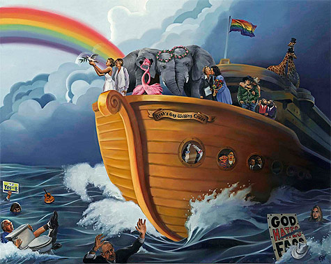 Noah's Gay Wedding Cruise, by Paul Richmond