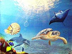 Underwater Ocean Art by Alan Minshull