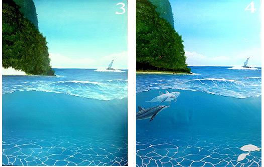 Painting Ocean Art
