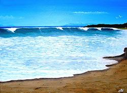 Ocean Shore Painting