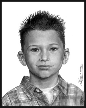 Realistic Pencil Portrait by Allen Palmer