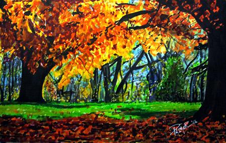 Landscape Marker Art by Allen Palmer