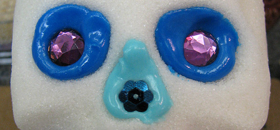 Sugar Skull Eyes with Gems