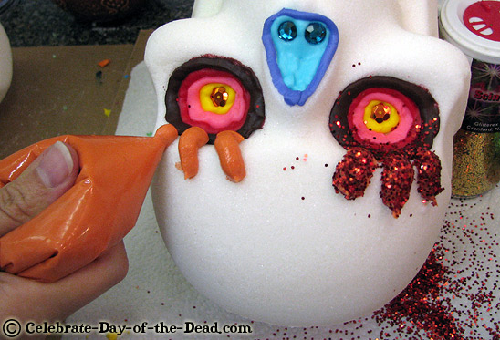 How to Decorate a Sugar Skull on Art is Fun