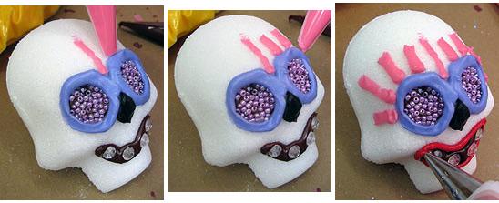 糖衣骷髅装饰小贴士