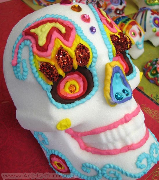 Large Mexican Sugar Skull