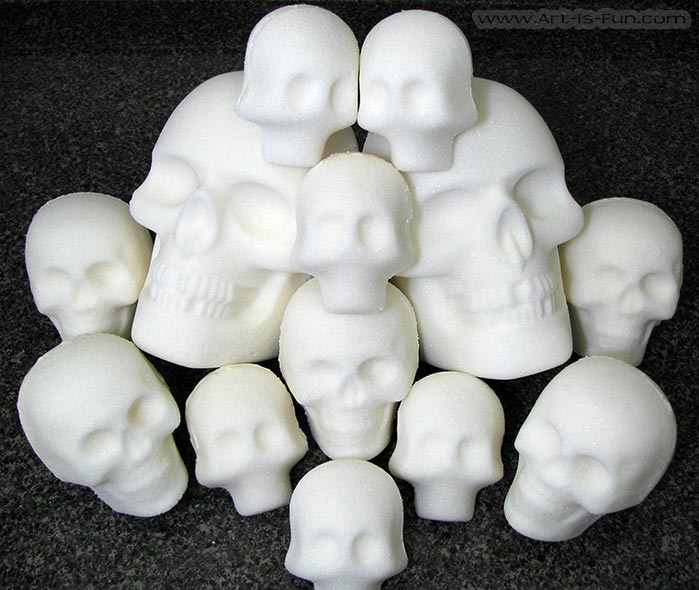 How to Make Mexican Sugar Skulls
