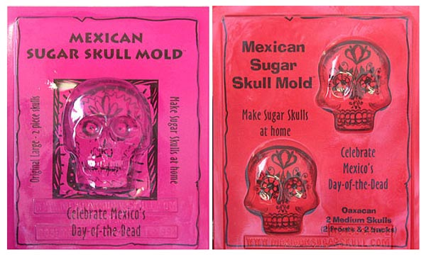 Medium Sugar Skull Molds