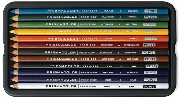Prismacolor Colored Pencil 12-piece Set