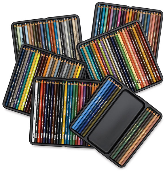 Prismacolor Set of 132 Colored Pencils