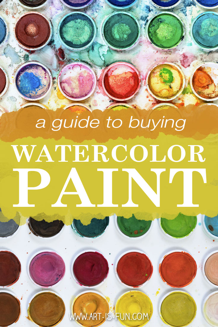 A Guide to Buying Watercolor Paint on Art-is-Fun.com