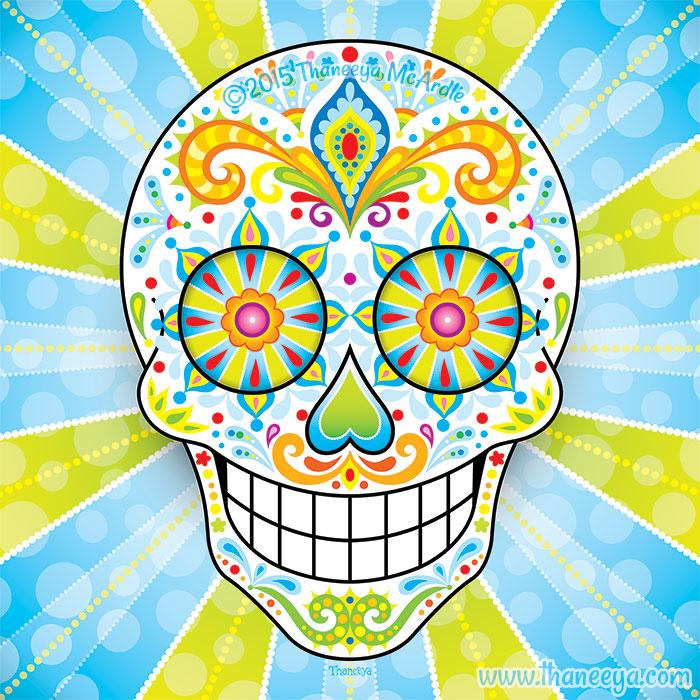 Zest Sugar Skull by Thaneeya McArdle