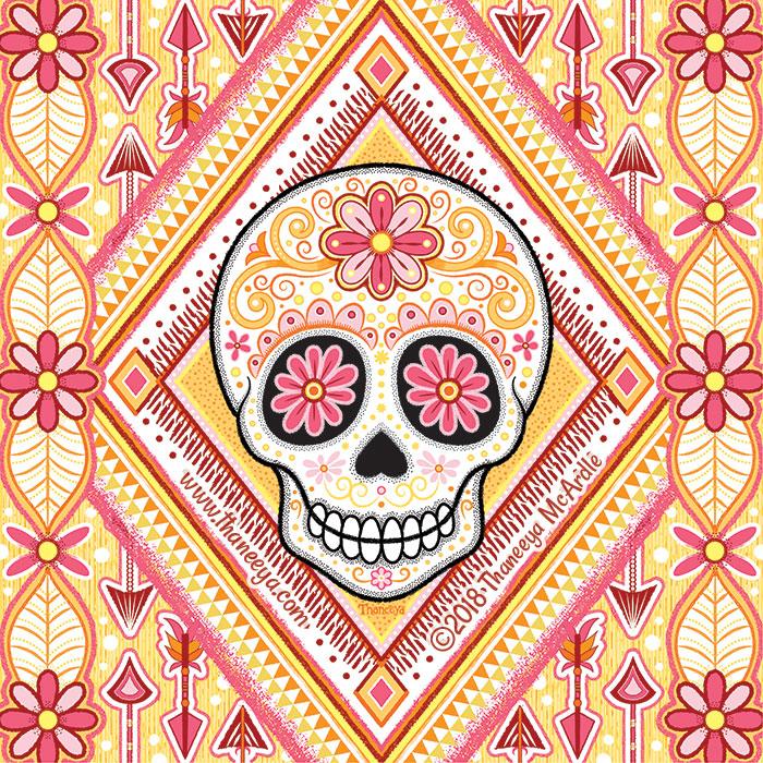 Avila Sugar Skull by Thaneeya McArdle