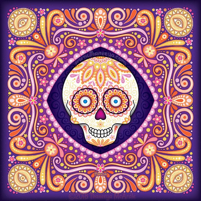 Pico Sugar Skull by Thaneeya McArdle