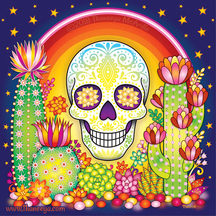 Sonora Sugar Skull by Thaneeya McArdle