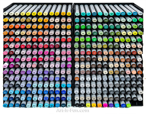 My complete  ArtBeek Sketch Markers collection