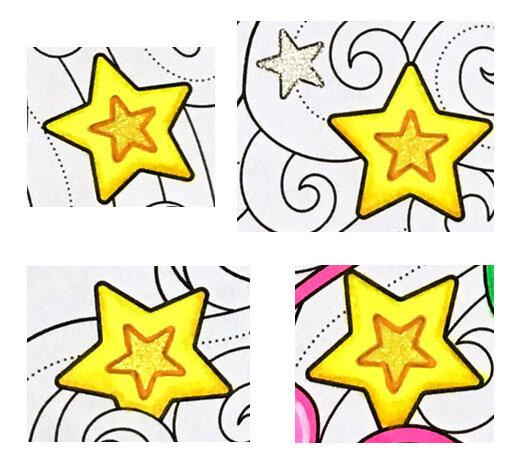 betway必威官网app在我的圣诞独角兽上色页面上色星星。