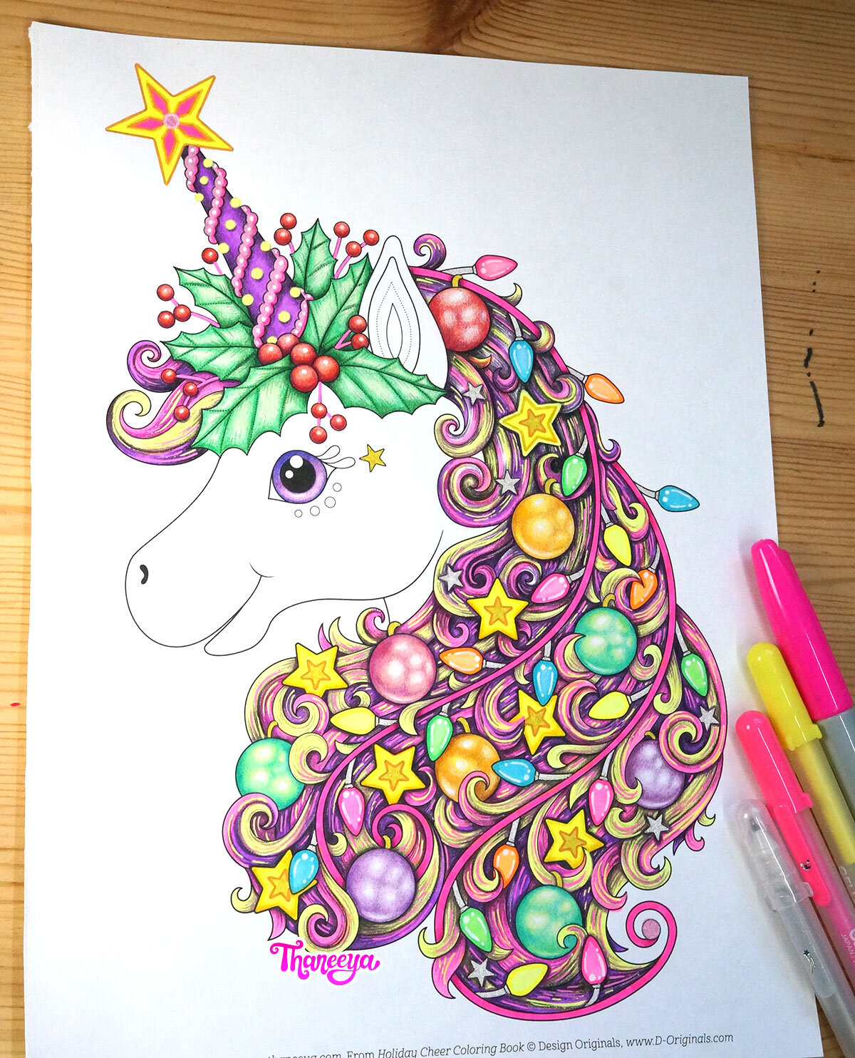 - Unicorn Coloring Page Tutorial - Detailed Coloring Lesson & Tips