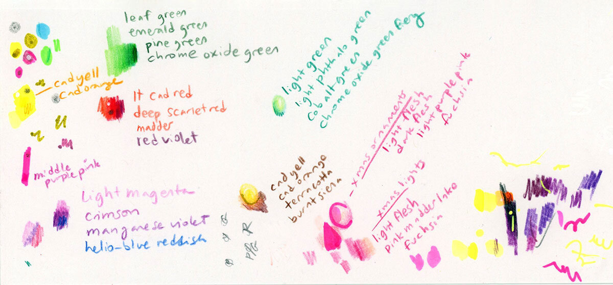 给我的圣诞独角兽上色的凌乱的颜色笔记betway必威官网app