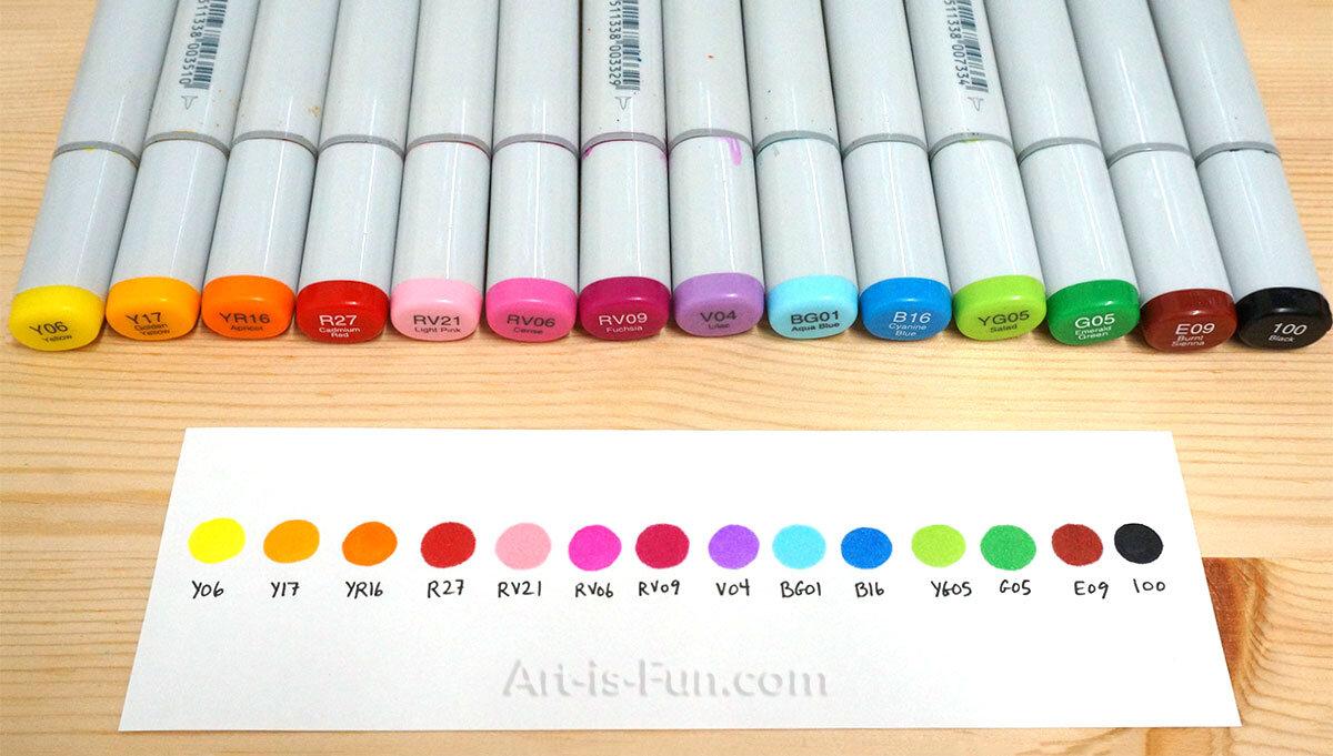 我最喜欢的初学者的颜色