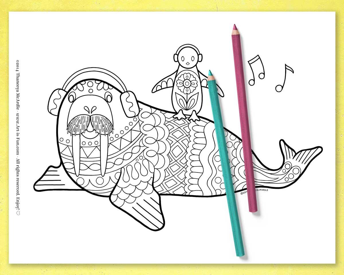 海象,企鹅上色页面Thbetway必威官网appaneeya McArdle -即必威西蒙体育 欧盟体育时下载