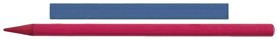 彩色棒和无木彩色铅笔