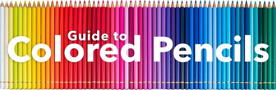 艺术家和着色家彩色铅笔指南