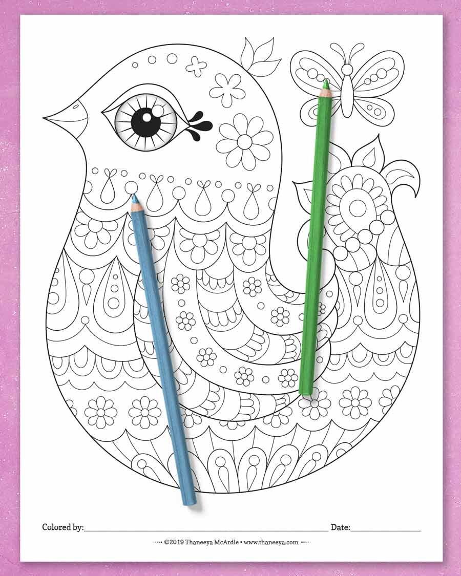 Thaneeya Mcbetway必威官网appArdle 's Happy Hodg必威西蒙体育 欧盟体育epodge coloring Pages -一套27张可打印的上色页,适合所有年龄的人