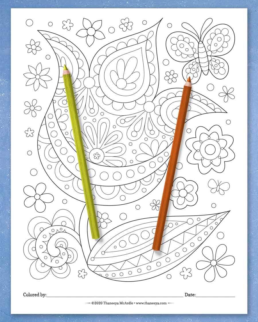 郁金香彩页来betway必威官网app自Thaneeya McArdle的快必威西蒙体育 欧盟体育乐大杂烩彩页-一套27张可打印的彩页,适合所有年龄的人