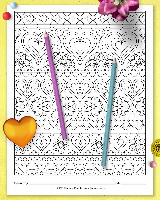 Thaneeya Mcard18luck世界杯买球le的心脏样式着色页新利18在线娱乐