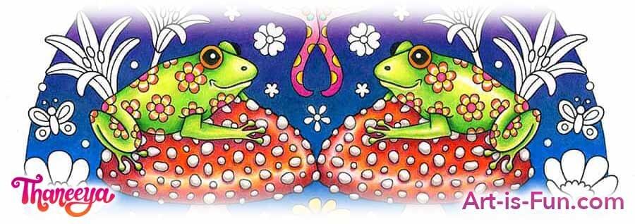 轻松逐步的青蛙彩色铅笔着色教程by thaneeya mcardle必威西蒙体育 欧盟体育betway必威官网app