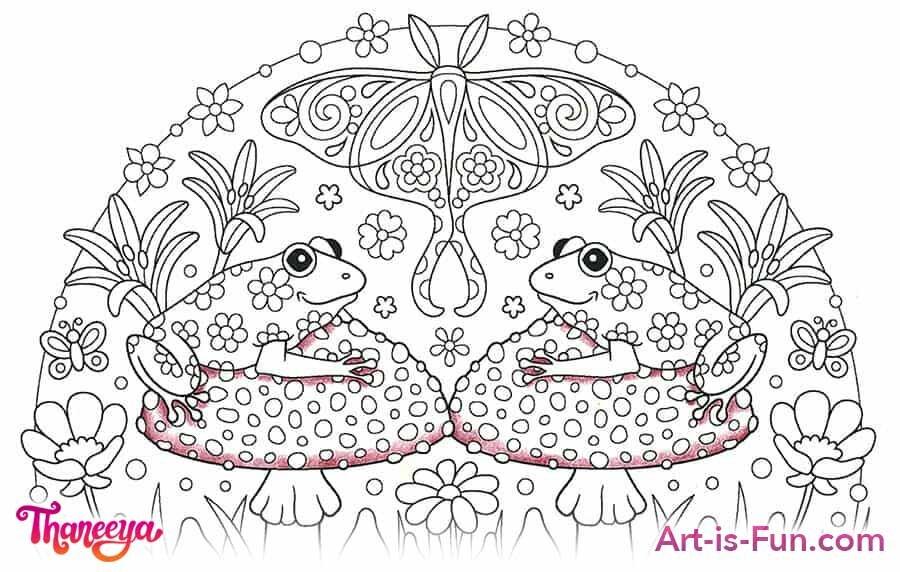 蘑菇色铅笔教程