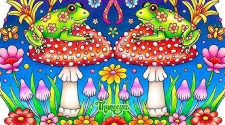 Thaneeya McArdle青蛙彩色铅笔教程新利18在线娱乐