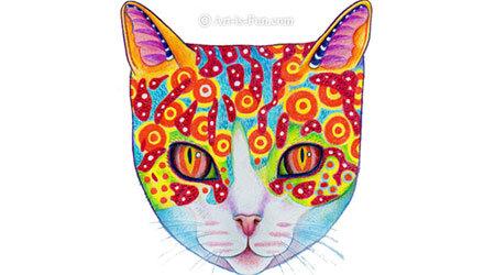 如何画一只猫