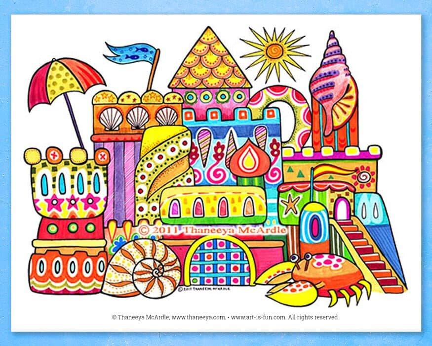 成品沙城堡成人着色页18luck世界杯买球