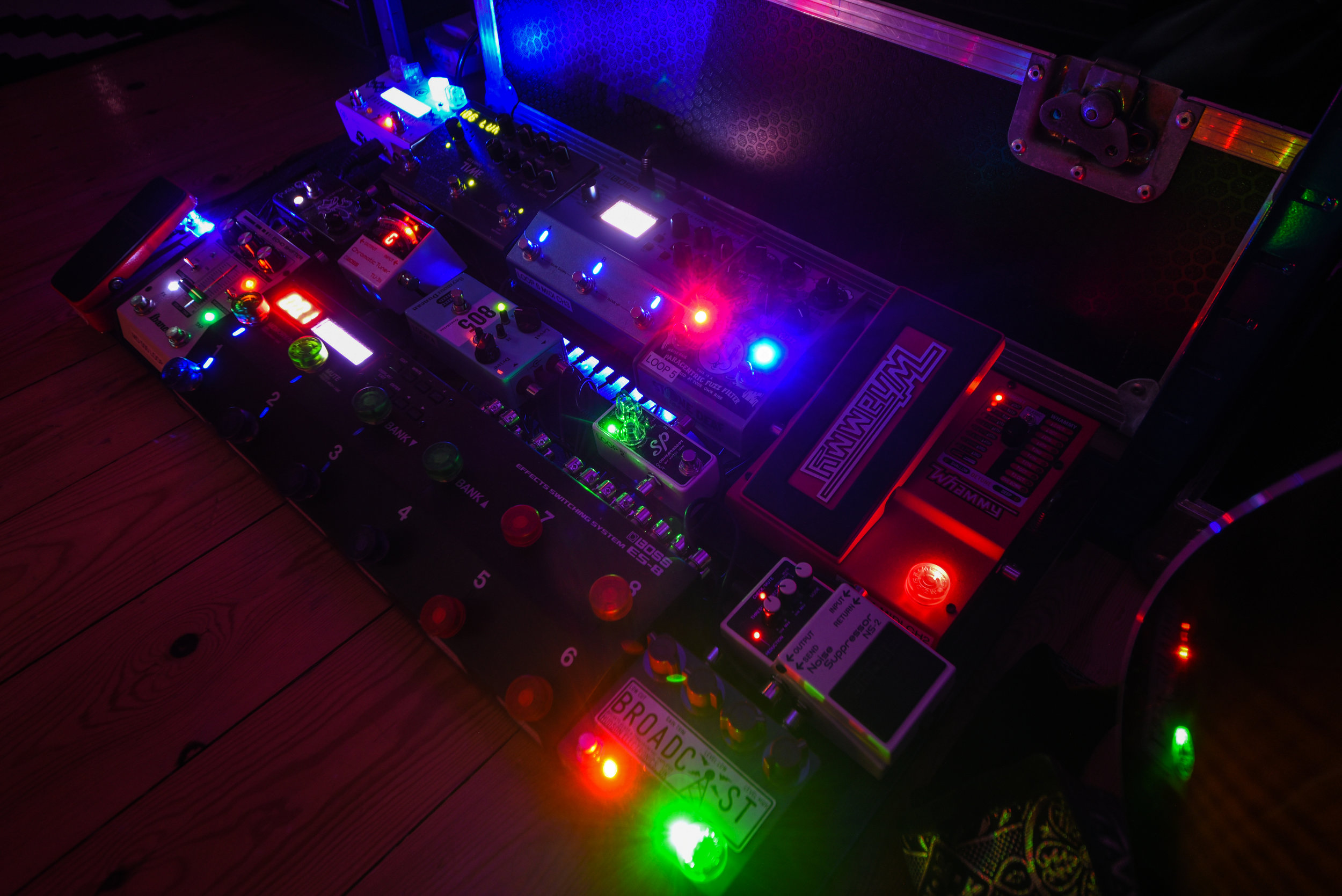 Benni-Dumville-Guitar-Recording-Pedalboard-Effects-Pedals-Band-Album-EP-Production-Microphone-Producer-Studio.jpg