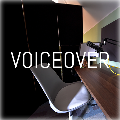 Voiceovers have an almost endless list of applications in the entertainment and service industries. It's important to record with high quality equipment, in a comfortable and acoustically isolated environment with good direction, to ensure the best possible performance.