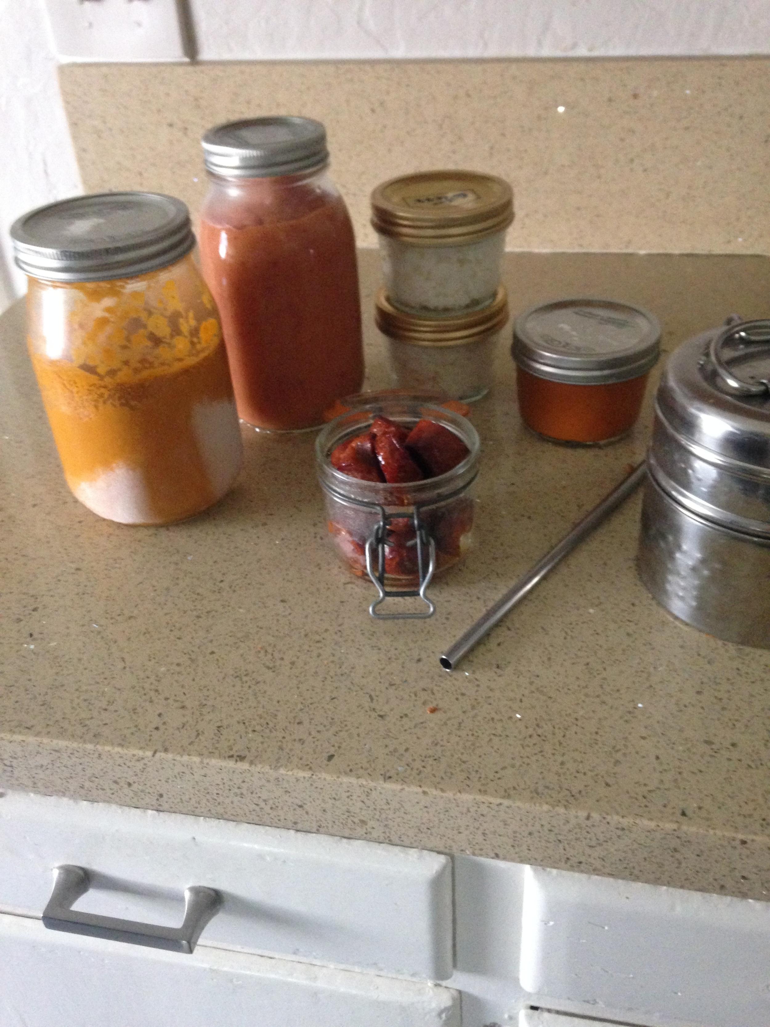 Zero Waste Vegan Meal Prep at goingzerowaste.com