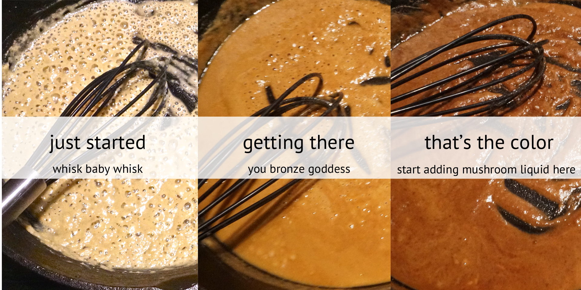 the evolution of a roux