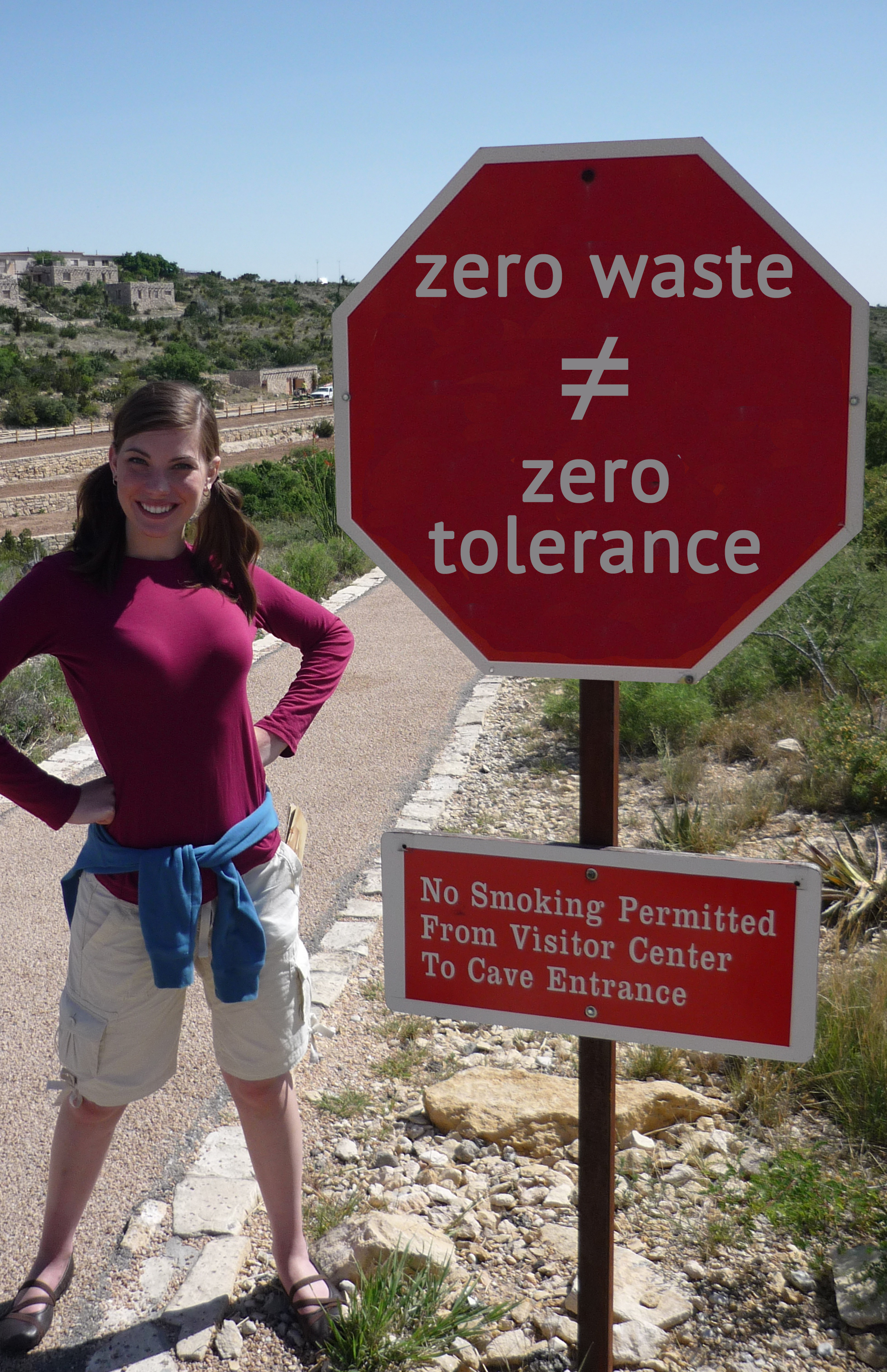 zero waste does not equal zero tolerance from goingzerowaste.com