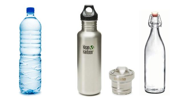 Zero waste swap 4: Keep a reusable bottle on you! No more over priced water. www.goingzerowaste.com