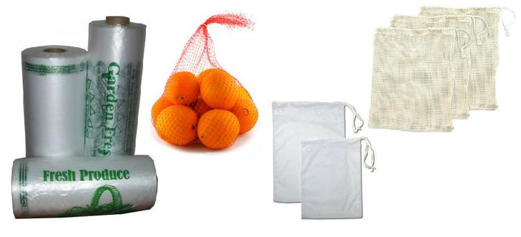 Zero waste swap number 6: Use cloth produce bags, or don't use produce bags. Most items are big enough, you don't even need a bag. www.goingzerowaste.com